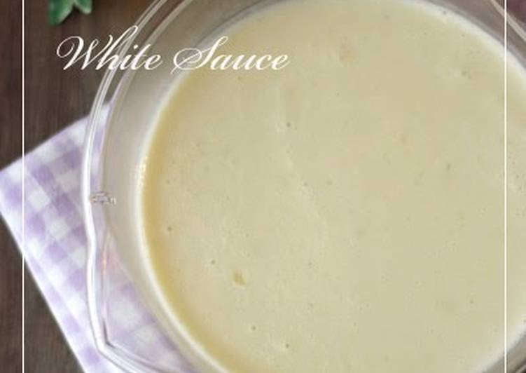 Easy White Sauce In The Microwave