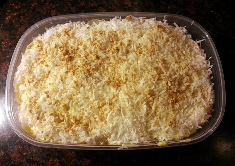 Coconut Box Cake