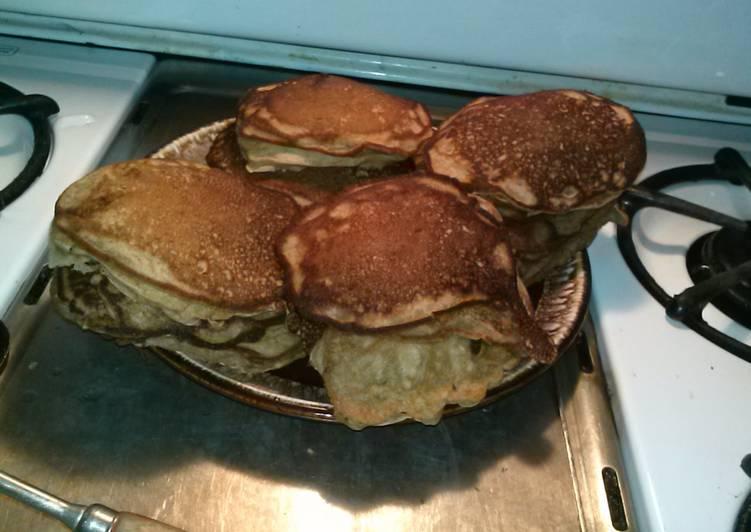 Recipe of Any-night-of-the-week Banana Bread Pancakes