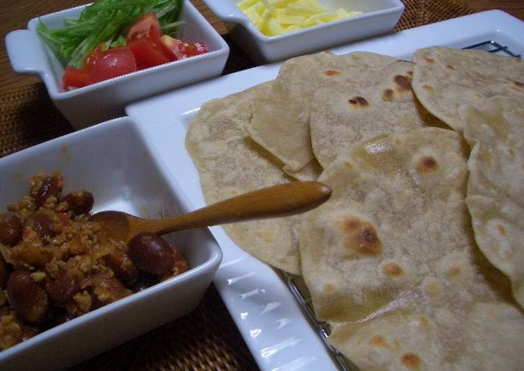 Tortillas with Buckwheat Flour