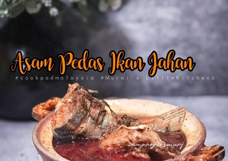 Asam Pedas Ikan Jahan - resepipouler.com