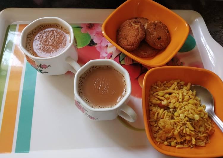 Cardamom & ginger Tea