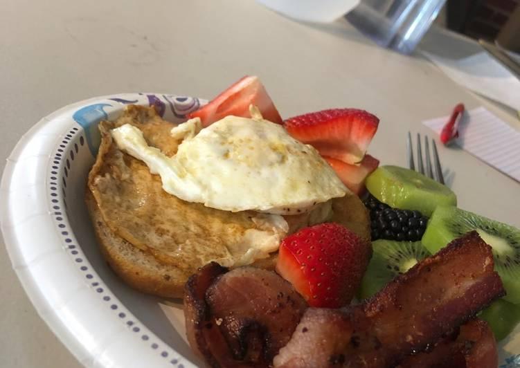 An original breakfast