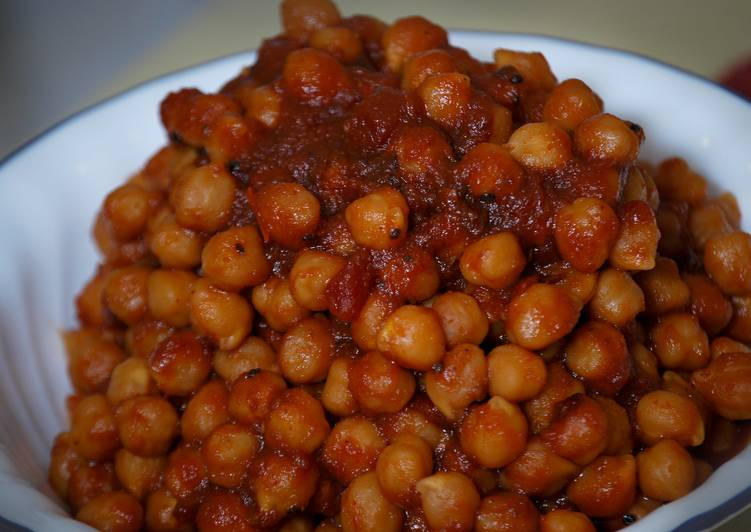 BBQ Slow Cooker Chick Peas