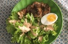 Salad trứng đơn giản
