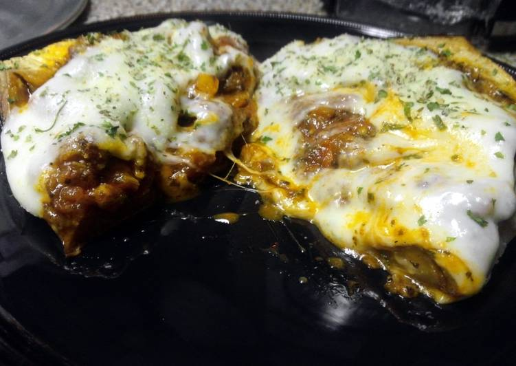 Recipe: Perfect LuBella's Stuffed Eggplant Parmigiana