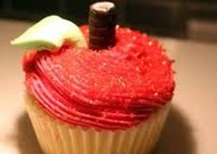 Easiest Way to Prepare Speedy Apple vanilla cupcakes