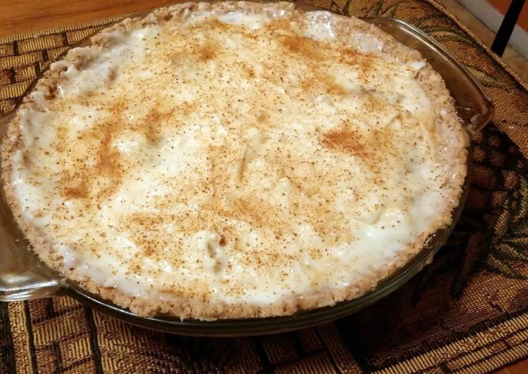 Sour Cream, Carmel, Cream Cheese Apple Pie