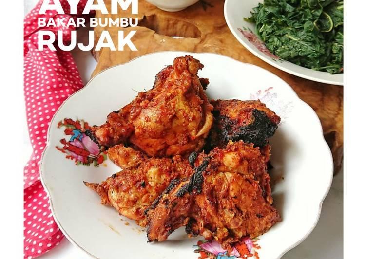 Ayam Bakar Bumbu Rujak