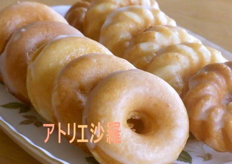 Simple Way to Prepare Ultimate Honey Lemon Yogurt Baked Donuts