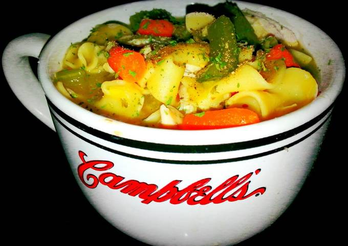 """Mike's, """"Sick Day,"""" Chicken Noodle Soup"""