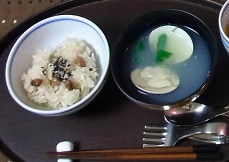 Hamaguri Clam Clear Soup