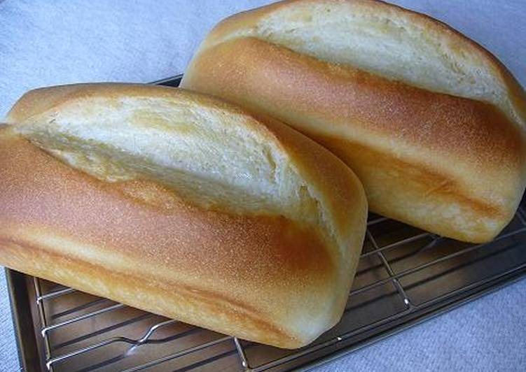 Pound Cake-Shaped Fluffy Butter-Top Bread