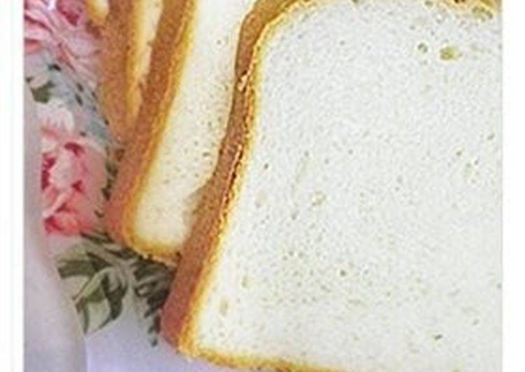 Recipe: Appetizing Fluffy Sandwich Bread with Milk (in a Bread Machine)