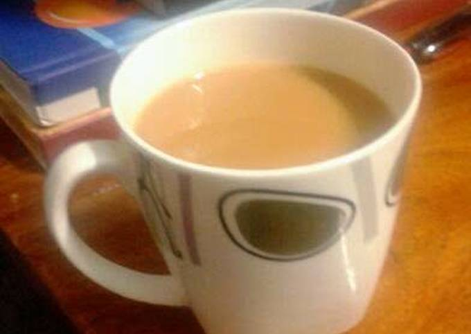 Indian style ginger tea