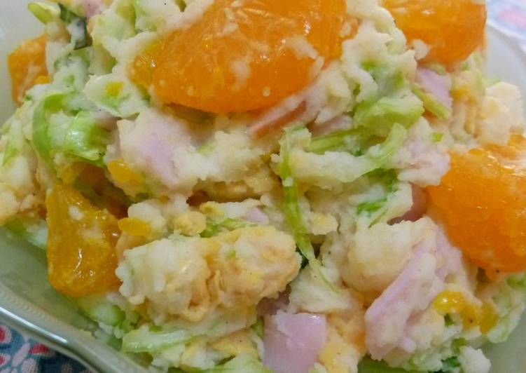 Grandma's Recipe For Winter Potato Salad