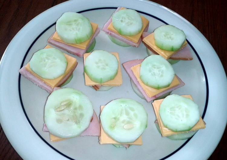 Easiest Way to Make Delicious cucumber sandwiches