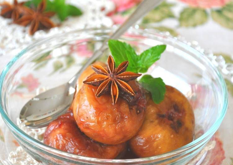Recipe of Perfect Stewed Figs in Wine Compote