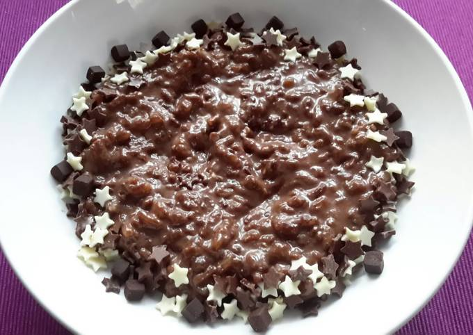 Sig's Chocolate Risotto