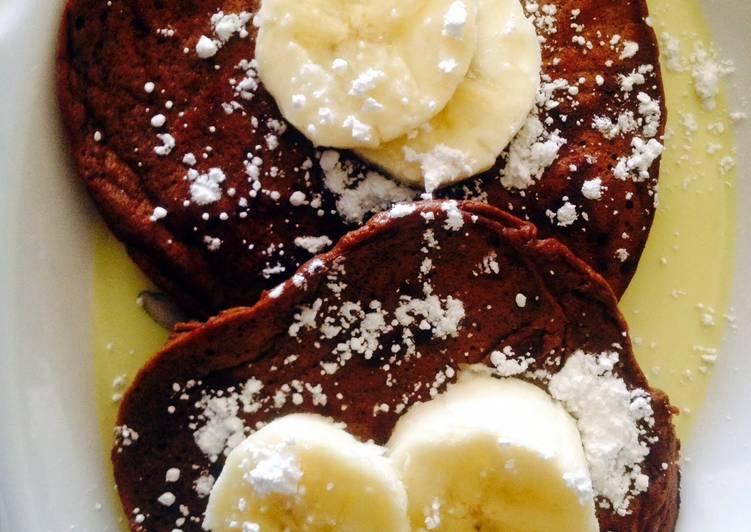 Banana Cacao Pancakes