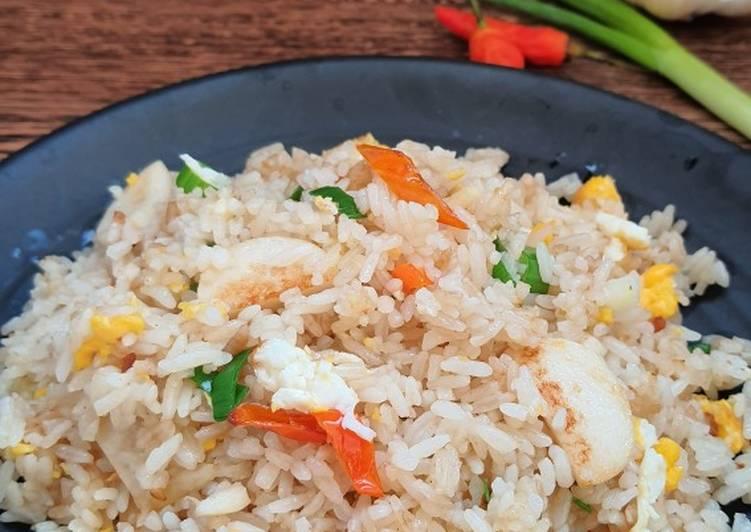 Nasi Goreng Bakso Ikan