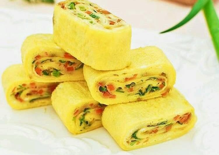 Recipe of Speedy Korean Egg Roll