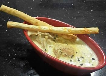 Easiest Way to Prepare Appetizing Mushroom Cream Soup