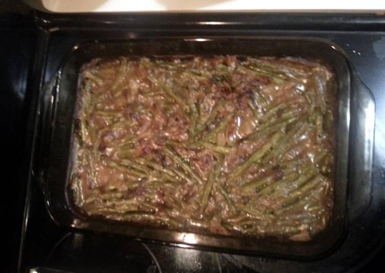 How to Prepare Yummy Basic Green Bean Casserole