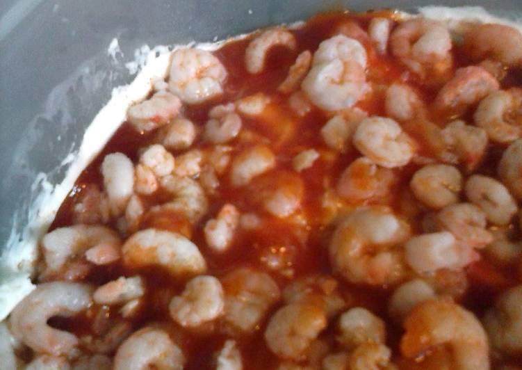 Steps to Make Homemade shrimp dip