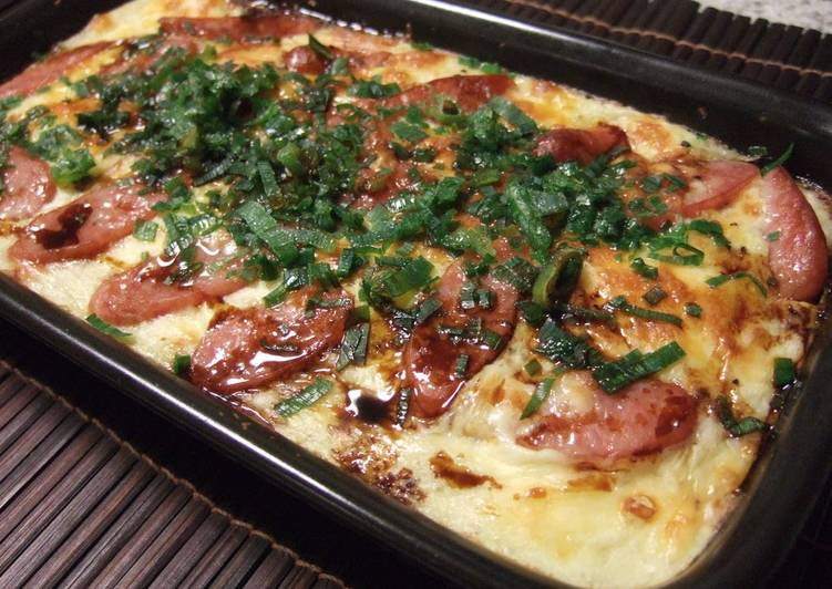 Simple Way to Make Super Quick Homemade Easy and Delicious Yamaimo Yam Gratin
