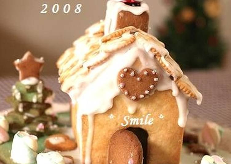 Recipe: Perfect Christmas Cookie House