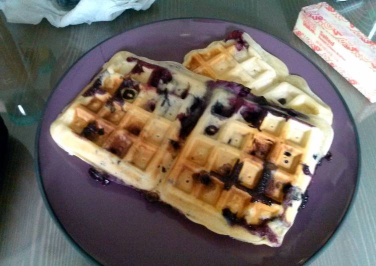 Recipe of Favorite Waffles made easy :)