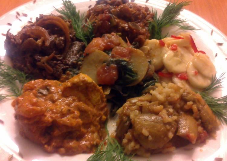 My Grandma Sig's Andhra Lamb Chilli Curry