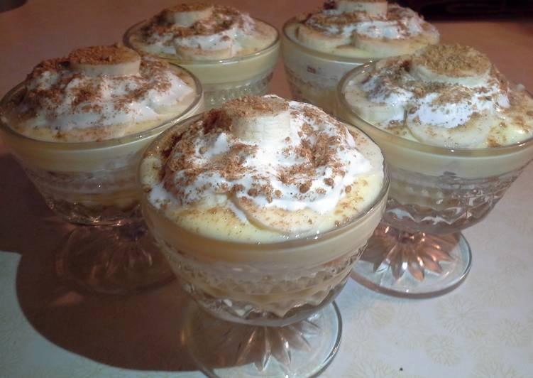 Sweet & Creamy Banana Pudding