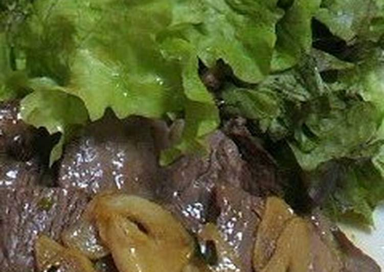 Beef Steak in Japanese-Style Sauce, Foods That Are Good For Your Heart