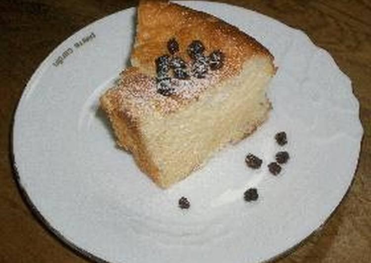 Low-cal Chiffon Cake