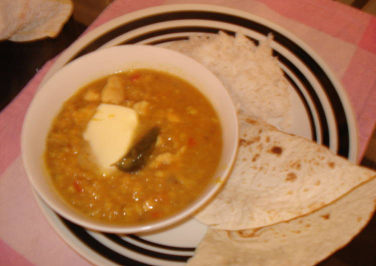 Recipe of Any-night-of-the-week Chicken Dal Curry