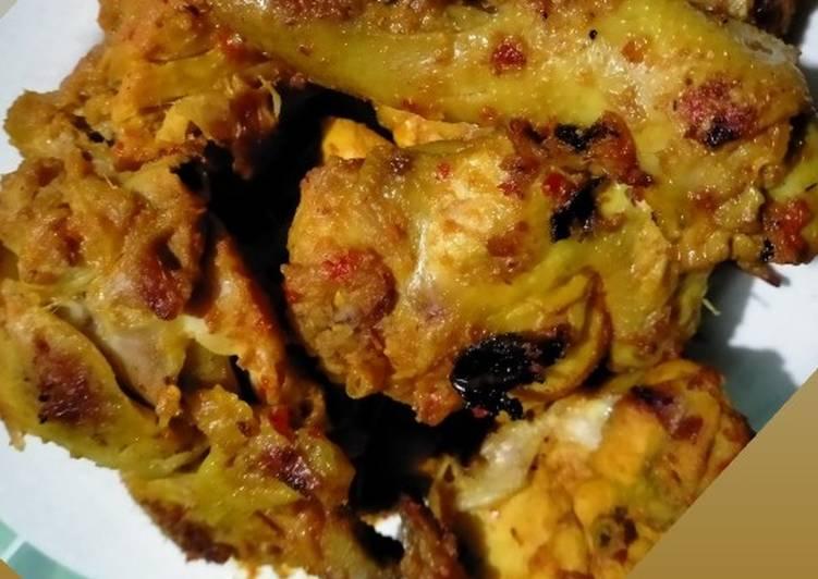 Ayam bakar padang (no gula, no santan, no minyak)