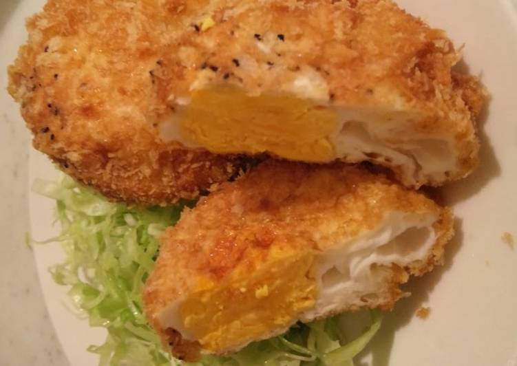 Recipe: Delicious Easy and Cheap Deep-Fried Eggs (for Bento)