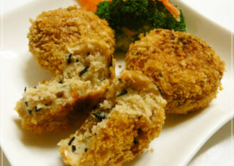 Quick, Easy Okara Croquettes - Laurie G Edwards