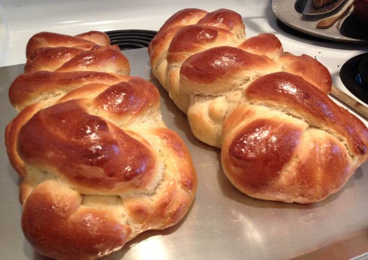 Simple Way to Make Super Quick Homemade Challah Bread