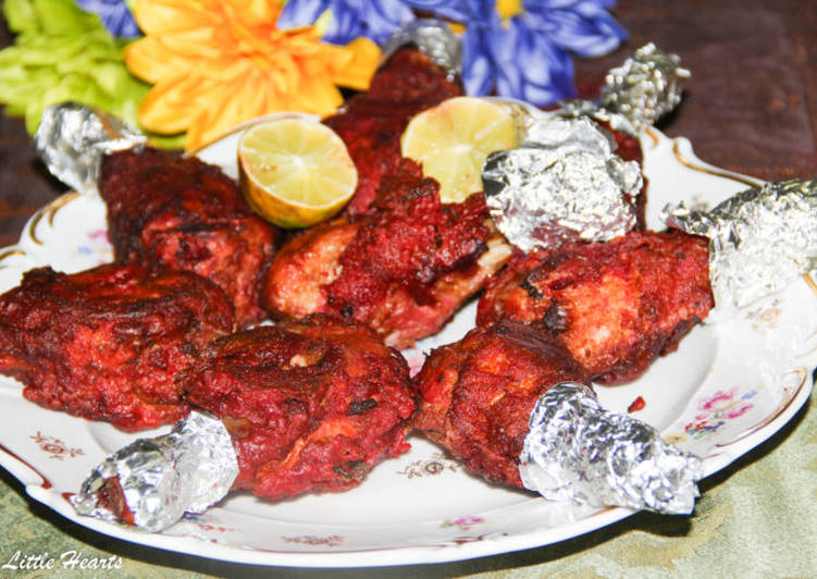 Street Food Style Deep Fried Chicken Kebab