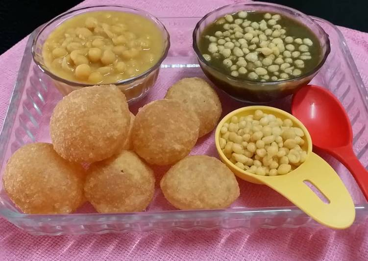 Hearty Comfort Dinner Easy Homemade Pani Puri/ Golgappa