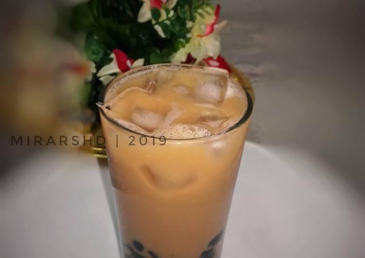 Bubble Milk Tea Ais - resepipouler.com