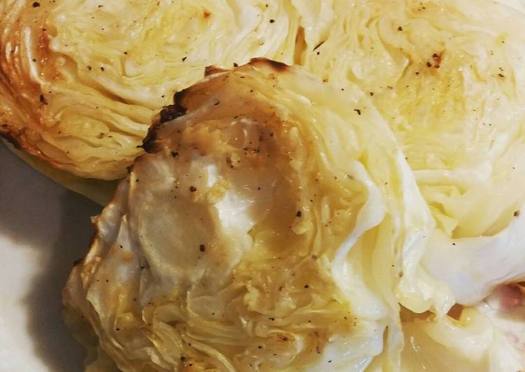 Tami's Roasted Cabbage Steaks