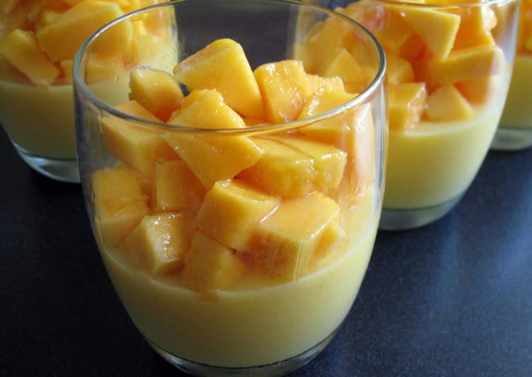 Simple Way to Prepare Speedy Mango Jelly Dessert