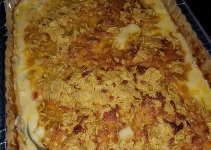 Easy Cheesy Hashbrown Potato Casserole