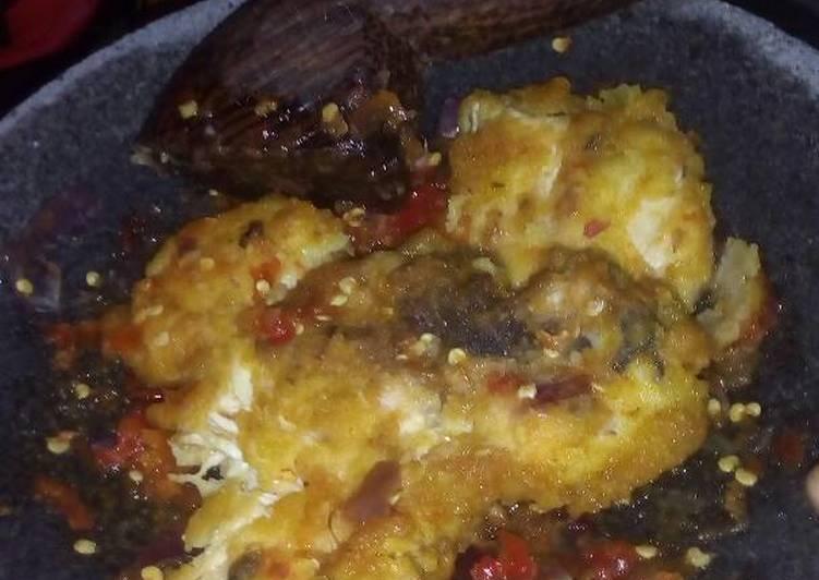 Ayam geprek endesss