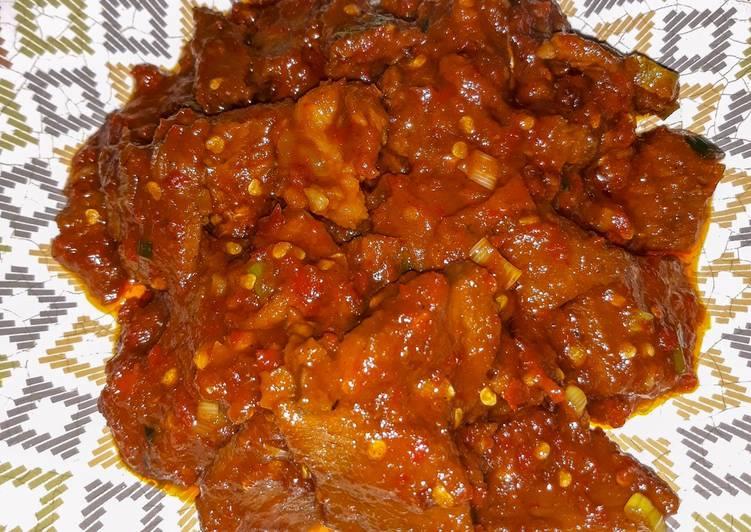 Daging Sapi Sambal Rica