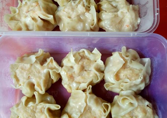 Dimsum ayam udang simple - projectfootsteps.org